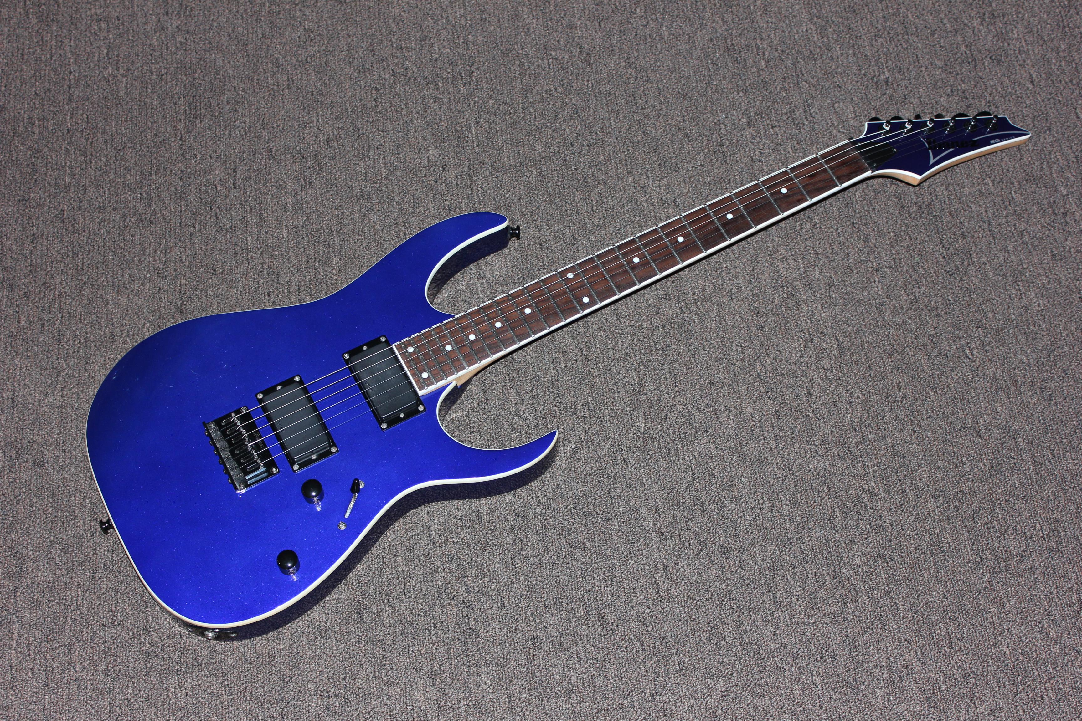 ibanez blue electric guitar guitars united. Black Bedroom Furniture Sets. Home Design Ideas